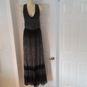 Jessica Simpson Open Back Maxi Dress